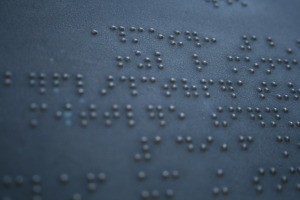 """Braille"""" by andreas.rodler is licensed under CC BY-NC 2.0"""